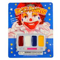 Free shipping Phantom Devil fans clown face paint color four-color