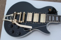 Classic custom black beauty electric guitar rocker jazz big three pickups electric guitar