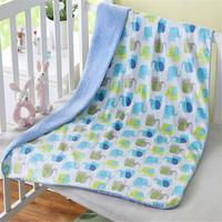 Baby Soft Blanket Children Bed Blanket