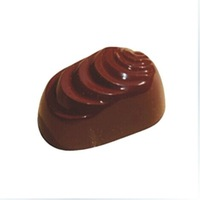 Shell Shape Chocolate Clear Polycarbonate Plastic Mold,DIY Handmade Chocolate PC Mold