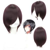 Free Shipping Anime Short Halloween Party Cosplay wigs Tokyo Guru Ken Kane Straight Kirishima Touka Cosplay Wig