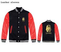 Winter/Autumn Outerwear Lastkings Pink dolphin Kings Logo Jacket Plus thick velvet