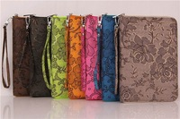 For iPad mini 1 2 Case Hand Bag Cover Fashion Flower Shopping Strong Protect Wallet For iPadmini with Retina Display Gift
