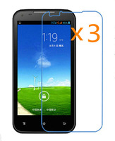 Retail Packing 3x Glossy Ultra Clear LCD Screen Protector Guard Cover Film Shield for Amoi N828