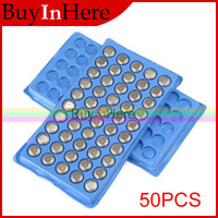 50Pcs 1.5v AG10 Button Cell Battery Batteries 389a L1131 189 389 LR1130 SR1130 LR54 Watch Toys Clock