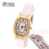 2014 years!New design formal diamond watches, quartz watch strap watch waterproof movement, free drop shipping