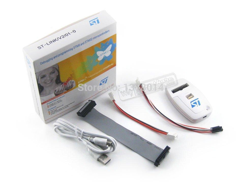 Free Shipping ST-LINK/V2 (CN) ST-LINK V2 Emulator STM32 STM8 In-circuit Debugger Programmer 100% Original(China (Mainland))