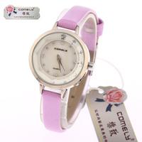 New design formal diamond watches, quartz watch strap watch waterproof movement, free drop shipping