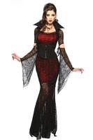 2014 new arrival sexy women's Deluxe Vampire Queen costumes halloween costumes fancy dresS 15124