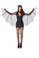 2014 new arrival sexy women's moonlight bat costumes halloween animal costumes fancy dress 3 piece set  size M XL15122