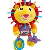 Free shipping baby toy Musical lion 28cm plush learning & education bed bell toy bed hang/bell baby Toys