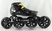 PS professional roller skates, inline speed skate for adults, black white red Patim patins profissionais h6j7u6