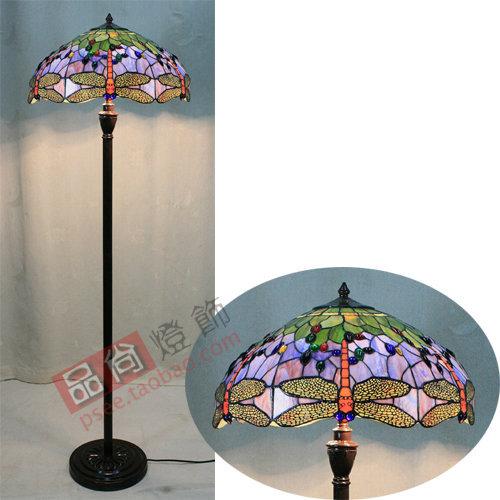 Living room floor lamp bedroom den Tiffany Lighting European pastoral work of learning to read(China (Mainland))