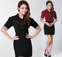 2014 New Fashion Large Size OL Commuter Slim Thin Professional Short-Sleeved Shirt 1099 2XL ,XXXL,3XL,XXXXL, 4XL free shipping