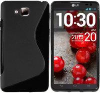S Line TPU GEL Case Cover  for LG-Optimus L9 2 II D605