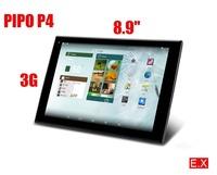"Pipo P4 Rk3288 Tablet PC A17 Quad Core 2GB RAM 16GB 8.9"" IPS 1920x1200 Camera 8.0MP GPS HDMI"
