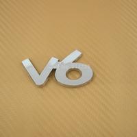 Brand new V6 car Labeling Emblem