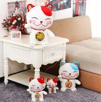 Cute cartoon Japanese Lucky cat doll plush toy 26cm creative birthday gift home decoration animal cat toys plush  birthday gift