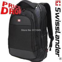 brand SwissLander,Swiss,laptop backpack,15.6 inch notebook backpack,school travel bag pack for tabletpc w/ raincover,lock,