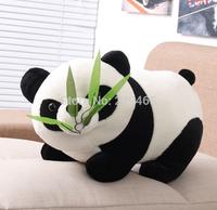 Bamboo panda gift children gifts cute plush toys cushion home decoration birthday gift panda eat bamboo