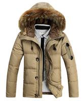 2014 winter  New Men Down  Thicker section  Nagymaros collar down jacket Men