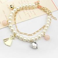 Korea jewelry wholesale loom bracelet jade bracelet free wristbands by mail L0544