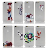 1pcs 4.7 inch Mario Crayon Shin-chan Mickey Spongebob Catch Apply Case Cover For Apple i Phone iPhone 6 iPhone6 Cases