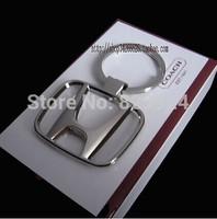 2pcs/lot free shipping car logo keychain / auto logo key rings/car accessory