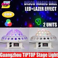 Digital Led Magic Ball 25W Working Power RGB 3W*6pcs Led Lamps DMX512 Control 110V-240V