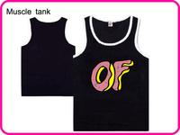 Stock Free Shipping Hot Selling Best Gift Fashion Men's Muscle Vest Slim Fit Sexy Stylish Sleeveless Odd Future Brand Vest