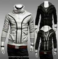 Hot New Wholesale Men Sweater Large Pockets Thin Stylish Casual Sports Sweater, Men's Jackets WY118