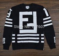 crew neck sweatshirt  2014 fashion tracksuits hip hop sweatshirt hba sweatshirt homme femme coco channel sweatshirt