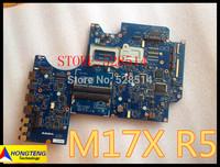 Wholesale For dell alienware 17 motherboard M17X R5 02XJJ7 system board CN-02XJJ7 laptop mainboard VAS00 LA-9331P  100%Tested