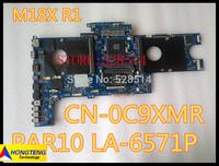Wholesale For Dell Alienware M18X R1 LAPTOP Motherboard LA-6571P CN-0C9XMR  0C9XMR C9XMR 100% fully tested
