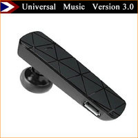 2015 Bluetooth earphone And Bluetooth Headset Version 3.0 Wireless Headphones Universal Support Music Free Shipping