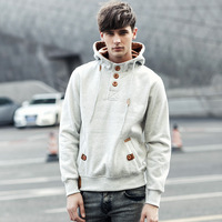 2014 new winter explosion models boys hedging hooded Korean version of the influx of men outwear plus size sweatershirts