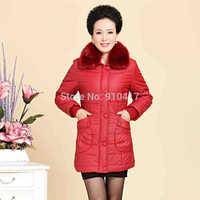 New 2014 Winter Thick Warm Long Casual Women Winter Jacket XL XXL XXXL XXXXL 4 Colors Free Shipping
