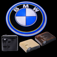 2PCS 5W Wireless Car Conrtesy door LED Light Logo Projector ghost shadow Laser light for BMW Free shipping