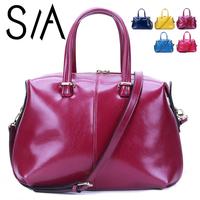 Hot 2014 Classic women bag fashion genuine leather women's handbag shoulder bag famous brand large women leather handbags