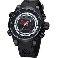 WEIDE WH3315 Men Wristwatches Analog-Digital Date Day Alarm MIYOTA Quartz Movement Sports Watches Waterproof diver Men's Watch