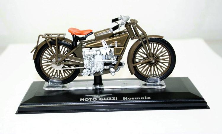 1/22 FreeShipping ITALERI DieCast metal motorcycle scale model MOTO GUZZI Normale(China (Mainland))
