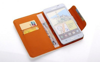 Free shipping, 3.5 ~ 4 inch PU Leather Flip Cover Case for Acer Liquid Z4 / Z3 / Z2 / Z110 / z140 / Allegro Mobile Phone