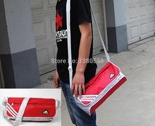 Gros sac de sport hommes baril incliné épaule amateurs sac de sport sac de mode féminine(China (Mainland))