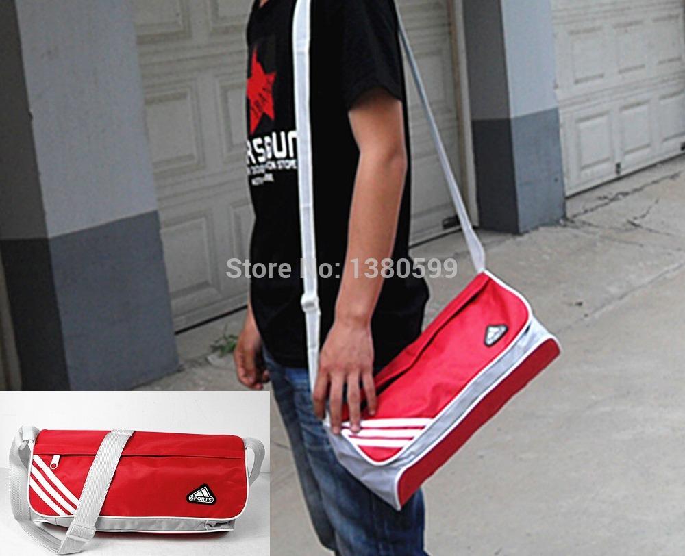 Wholesale sports bag men's barrel  inclined shoulder  lovers gym bag female fashion bag(China (Mainland))