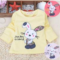 Retail 2014 New Children's Sweater Baby Girl Cotton Hoodie Infant Cartoon Sweatshirt Jacket for Spring Fall Winter