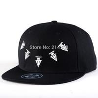 Hip Hop Baseball Flat Bill Hats Caps Snapback Hip-Hop Adjustable Canvas Cap Hat 013