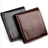 Free Shipping!New  High Quality Men Short Wallet Leather  Fashion Men Purses Wallets  C3285