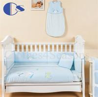 Cartoon Design Exported Standard Certificated Baby Bedding Sets 7 Pcs Pillow Blanket Set Baby Infant Toddler Baby Bedding Set
