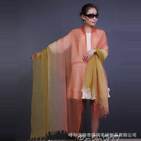 Wholesale 2014 new 280s thin cashmere scarf SWC100-1 graded ring free proofing customized