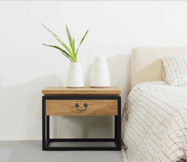 Achetez en gros chevet de pin en ligne des grossistes for Table de chevet moderne
